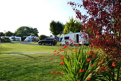wern farm touring caravan park north wales