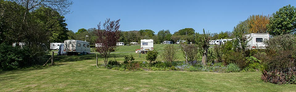 Wern Farm Caravan Park and Holiday Cottages in Tyn-y-Groes near Conwy, North Wales